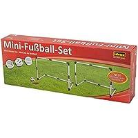 Idena 40465 - Mini Fußballtore, 2er Set, ca. 91,5 x 61 x 48 cm