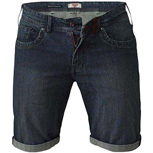 D555 Duke Mens Arix Big Tall Stretch Denim Shorts