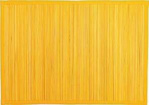 Sander 4er-SPARSET Tischset BAMBOO Fb. Zitrone (09) 33 cm x 48 cm