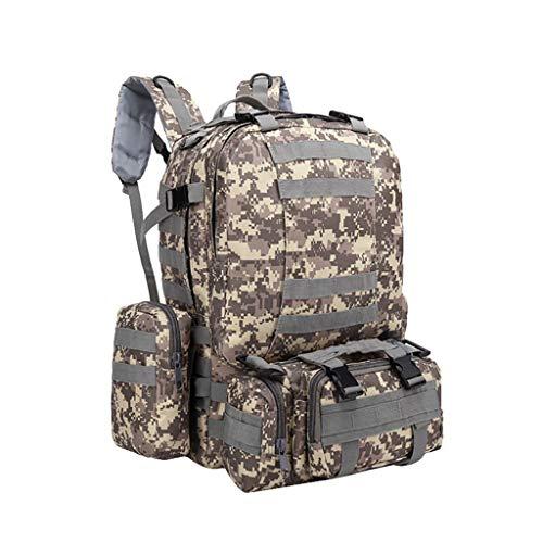 Outdoor-Sportrucksack, CHshe❤❤, Heißes militärisches Taschenpaket des Tages, Molle Outdoor-Sportrucksack 3D zum Auswandern (K)