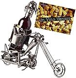 BRUBAKER portabottiglie dal design motociclistico