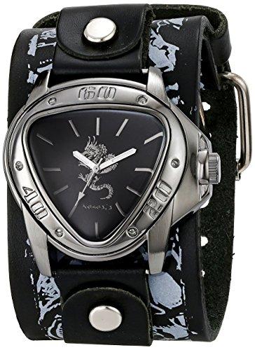 Nemesis 928LMS-S - Reloj de pulsera hombre, piel, color Negro
