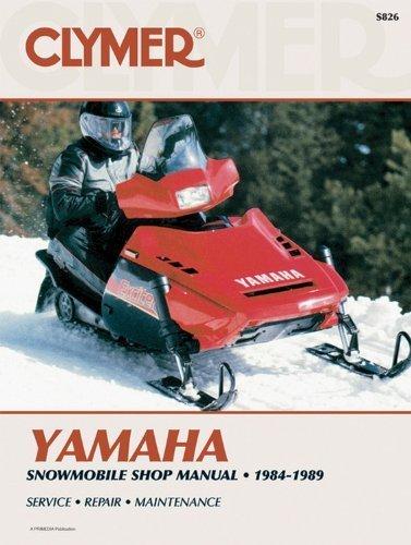 Clymer Polaris Snowmobile 1984-1989: Service, Repair, Maintenance (Clymer Manuals: Motorcycle Repair) by Inc. Haynes Manuals (1990-12-01)