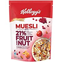 Kellogg's Muesli with 21% Fruit and Nut Pouch, 500 g
