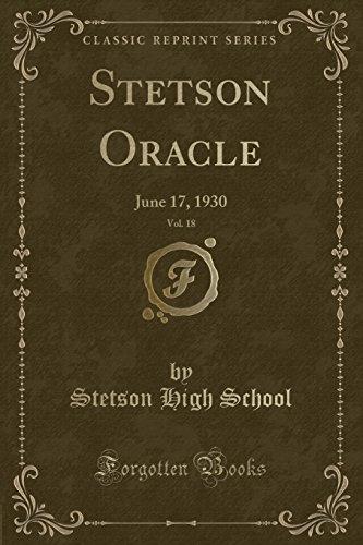 stetson-oracle-vol-18-june-17-1930-classic-reprint