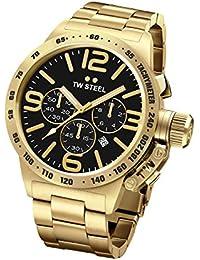 Tw Steel CB93 - Reloj de pulsera para hombre, negro / oro