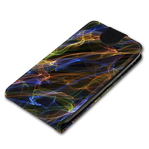Vertikal Flip Style Handy Tasche Case Schutz Hülle Schale Motiv Etui Karte Halter für Apple iPhone 5 / 5S - Variante VER39 Design9 Design 3