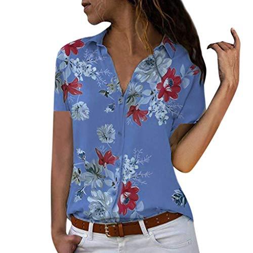 Bobopai Women Cami Top Vest Blouse High Neck Random Leaf Print Chiffon Tank Tops - Leaf Print Tank