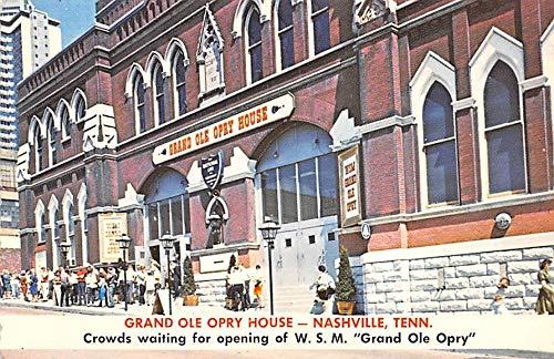 Grand Ole Opry House Nashville, TN, USA Postcard Unused