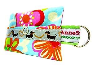 AnneSvea Distributeur de sacs à déjections canines pour chien, sachet friandises, sacoche en toile cirée, cadeau idéal pour tout propriétaire de chien
