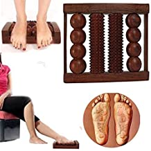 4Rod Foot Wooden Roller acupres Sure Massager Reflex Technology Tools For Body estrés, Pain Relief, Gift For Christmas or Birthday by affaires W de 40154