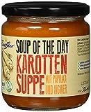 Escoffier Bio Karottensuppe mit Ingwer und Paprika, 4er Pack (4 x 355 ml)