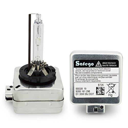Preisvergleich Produktbild Safego 2x D1S 4300K HID Xenon Brenner Lampe Entladungslampe ERSATZLAMPE BULBS HID D1S Xenon Birne Birnen Warmwei XBA35-D1S-43K-T
