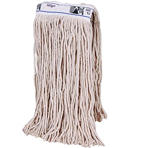 20oz / 560gm Kentucky Mop Head. Thick Absorbent Yarn For