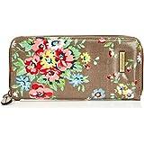 SwankySwans Womens Classic Floral Print Zip Around Wallet