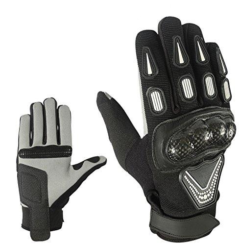 Sport Motorrad Handschuhe Vollfinger Sommer Army Gloves Gr S , M , L , XL und 2XL HS 003 (XL)