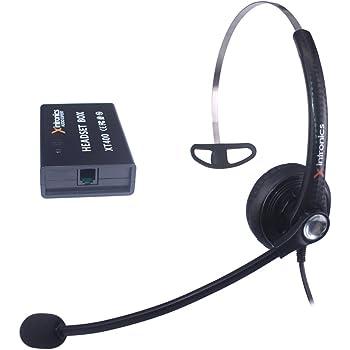 Cuffie Telefono Fisso Mono Universali Compatibili con Maggior parte i  Telefoni Fissi d7c998e54621
