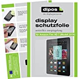 dipos I 2X Protection ecrán Mat pour Amazon Fire HD 7 (Modell 2014) Films de Protection d'écran