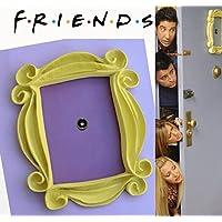 FRIENDS TV - CADRE JAUNE MONICA PORTE 26cm x 21 cm