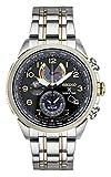 Seiko SSC508uomo Prospex World Time orologio solare con data