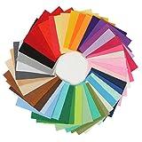 KING DO WAY 42 Farben Filz Stoff Polyester handmade Filzstoff