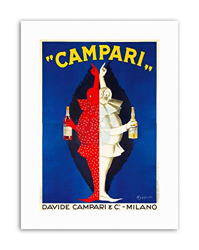 Wee Blue Coo LTD Campari Alcohol 1921 Home Decor Poster Advertising Canvas Art Prints - 1921 Poster