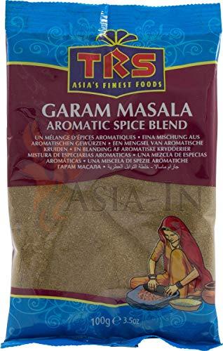 TRS Garam Masala 100 g India alimentos especias