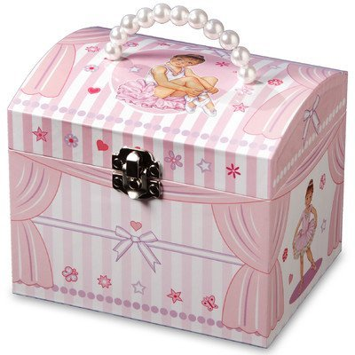 Die San Francisco Musik Box Company Star Ballerina Musik Schmuck Box Glockenspiel Music Box