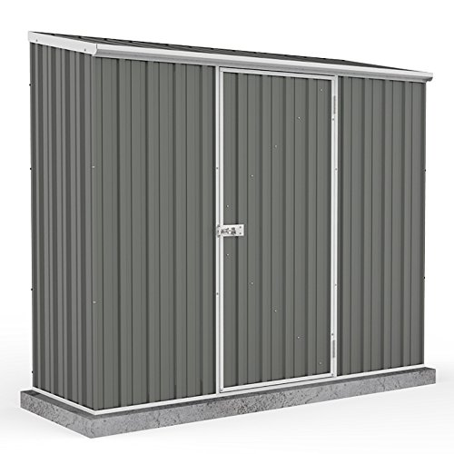 7-5-x-2-7-grey-pent-roof-metal-garden-shed-easy-build-grey-by-waltons