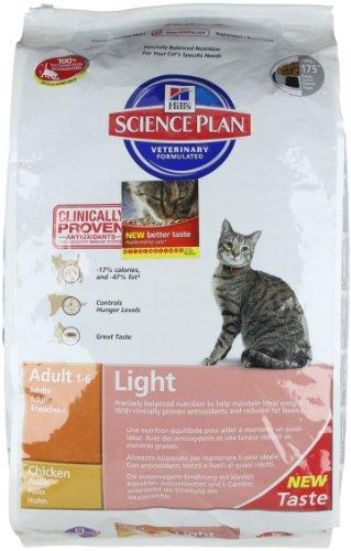 Science Plan Gatti Adult Light Gusto Pollo mangime Secco kg. 10