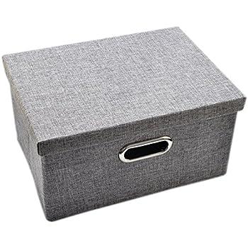 FOKOM Aufbewahrungsbox mit Deckel: Amazon.de: Küche & Haushalt