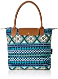 #5: Kanvas Katha Jacquard Stylish Tote Bag Collection for Women Women's (Multicolor) ()