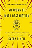 Weapons of Math Destruction: How Big Data Increases Inequality and Threatens Democracy by Cathy O'Neil (2016-09-06)