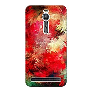 INKIF Abstract Painting Designer Case Printed Mobile Back Cover for Asus Zenfone 2 ZE551ML