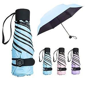 NASUM Regenschirm Mini, Taschenschirm, mehrere Schirmständer stärker, leicht klein und kompakt windsicher. Schirm für Reisen Order Business für Kinder Freundin Geschenk