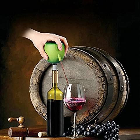 Green Apple tokuyi Electric Wine Vin à décanter Aerating Stainless Wine Vin aerator Pourer