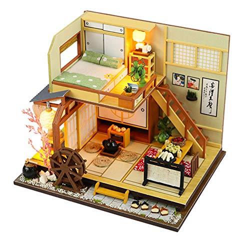 Delidraw 1 Stück Puppenhaus Heimwerker Modellsamblar Spielzeug Japan Stil Geschenk zum Valentinstag