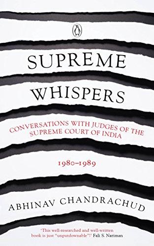 Supreme Whispers: Supreme Court Judges, 1980-90