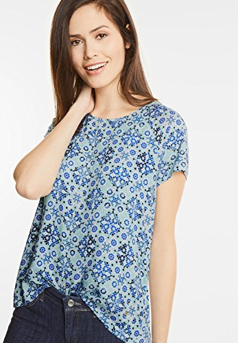 Street One Damen Shirt mit Minimalprint Sara lapis blue (blau)