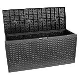BULTO Auflagenbox Kissenbox Gartentruhe Kissentruhe Gartenbox Kunststoff - 320 Liter