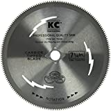 """KC Professional 79180 180T Plywood Steel Blade, 7-1/4"""""""