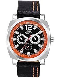 Louis Geneve Isport Series Analog Watch For Men LG-MW-O-BLACK-149
