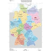 Suchergebnis Auf Amazon De Fur Deutschlandkarte