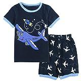 Best Cadeau d'anniversaire Idéal pour 6 ans garçons - Mombebe Pyjamas Enfant Garçons Avion Ensemble Été Vêtements Review