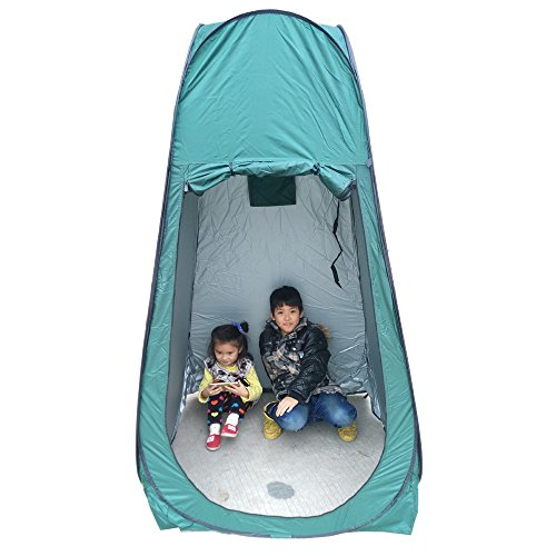 uk-stock-pop-up-portable-green-utility-tent-camping-shower-toilet-changing-single-room