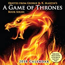 Quotes from George R.R. Martin's Game of Thrones – Zitate aus Game of Thrones 2018: Original BrownTrout-Tagesabreißkalender [Tagesabreißalender]