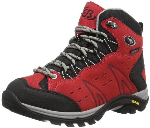 Bruetting MOUNT BONA HIGH, Damen Trekking- & Wanderstiefel, Rot (ROT), 43 EU (10 Damen UK) -