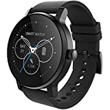 LuckyNV SMA-09 Bluetooth 4.0 Pulsmesser Smart Watch Kalender Taschenrechner Mehrere UI Pedometer Sleep Monitor Schwarz