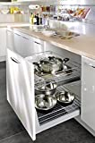 Küchenaufbewahrung zum Herausziehen, 300mm, sanft und selbst schließend