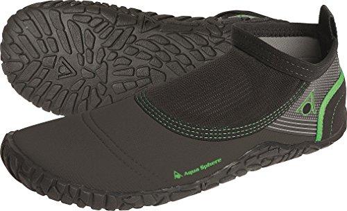 AQUA SPHERE - Herren Beachwalker - Blau Schuhe in Übergrößen Black/Green